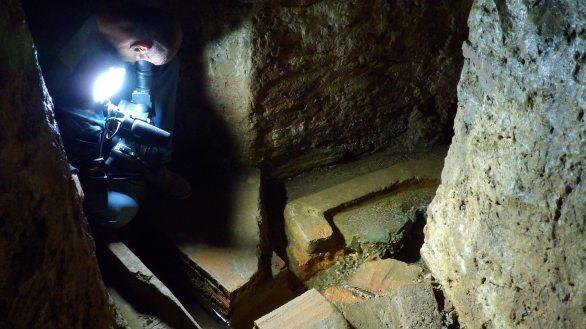 Interior del Arca del Agua