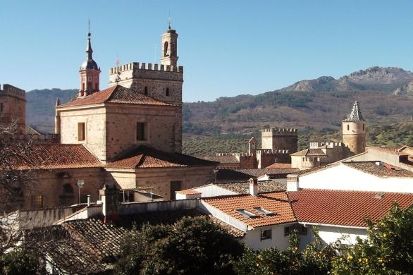 monasterio de guadalupe y la villuerca, monasterio de la virgen de guadalupe