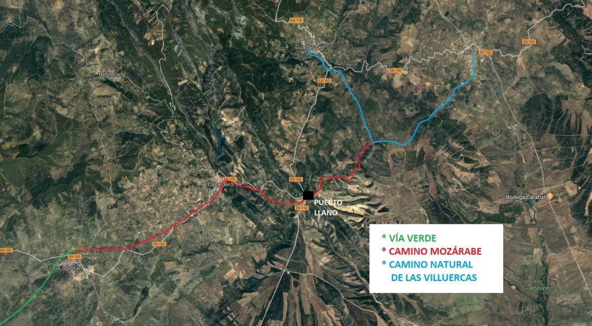 ruta senderismo por el Geoparque Villuercas-Ibores-Jara