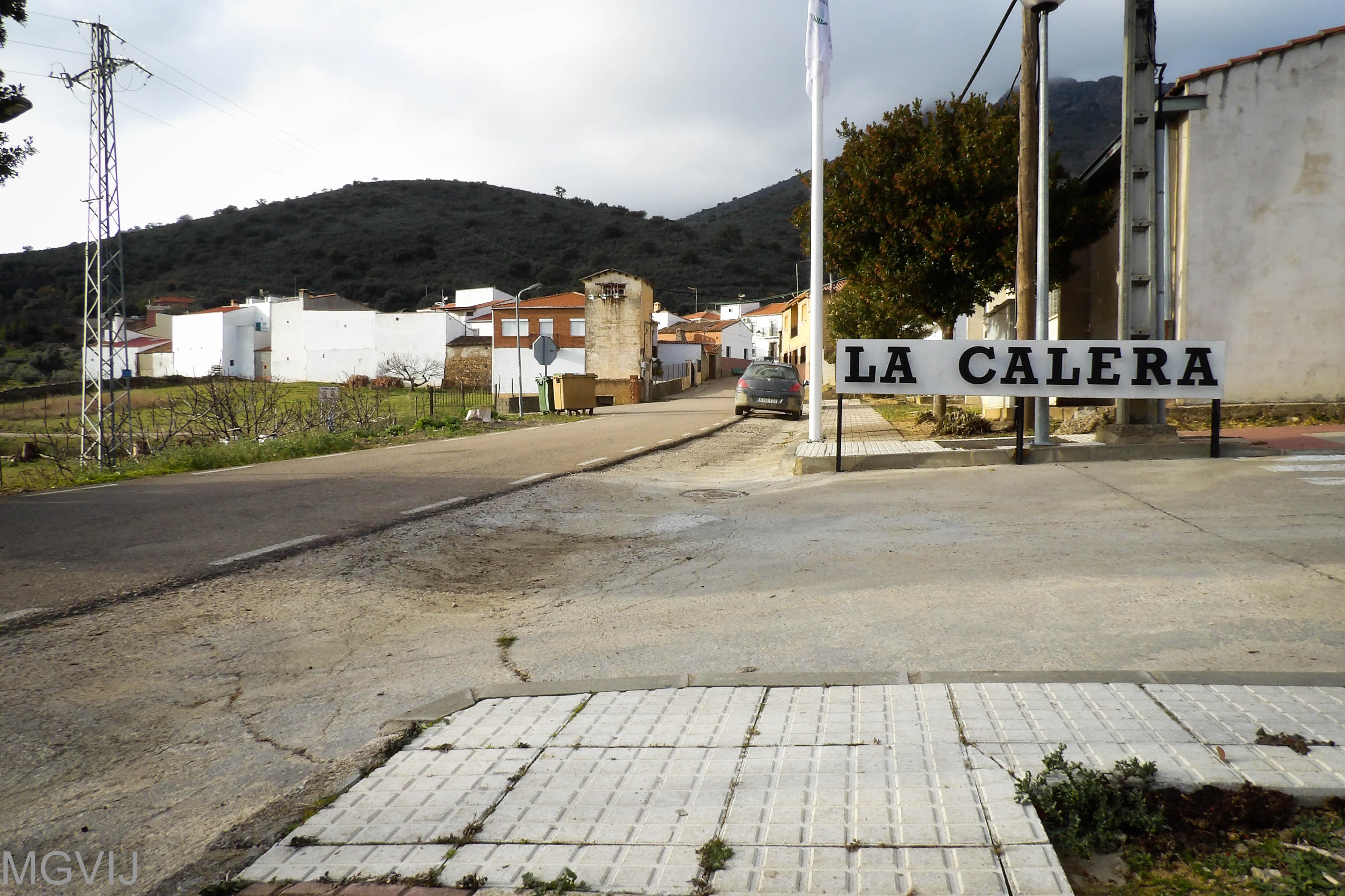 La Calera, pedanía de Alía en la provincia de Cáceres