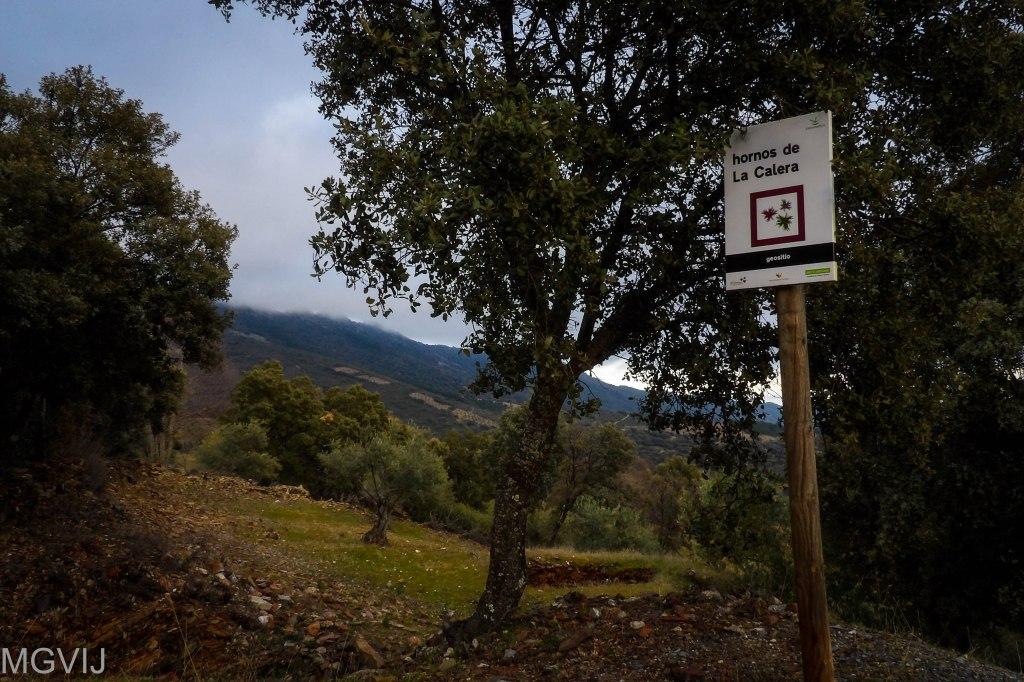 Geositio los hornos de la cal de La Calera en el Geoparque Villuercas