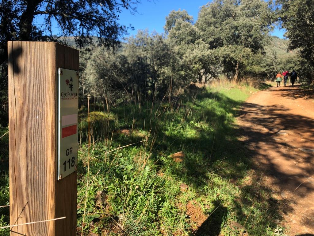 Gr 118 Camino de los Jerónimos Geoparque Villuercas Ibores Jara