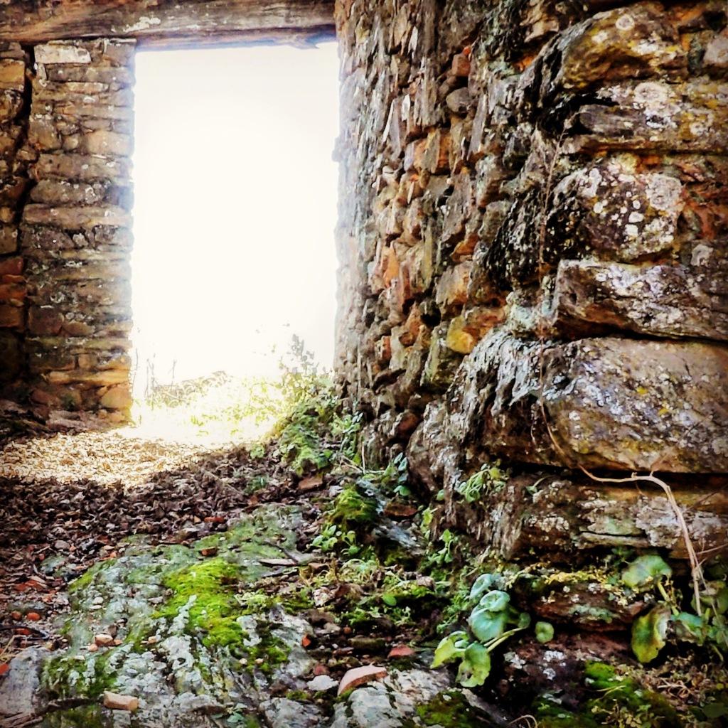 Casa en ruinas de La Avellaneda Geoparque Villuercas Ibores Jara